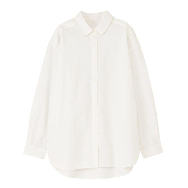 ブロードレイヤードロングシャツ