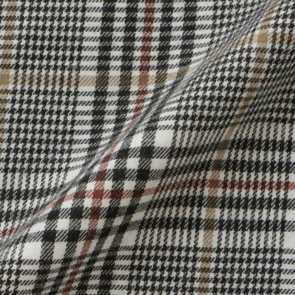 長袖ビエラロングシャツ