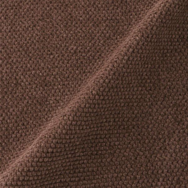 ハイゲージ モール鹿の子編みコーディガン